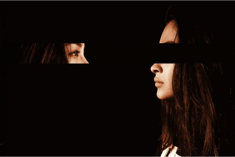 No F.E.A.R Negotiations Part IV_ No Ego woman eyes moved out of face