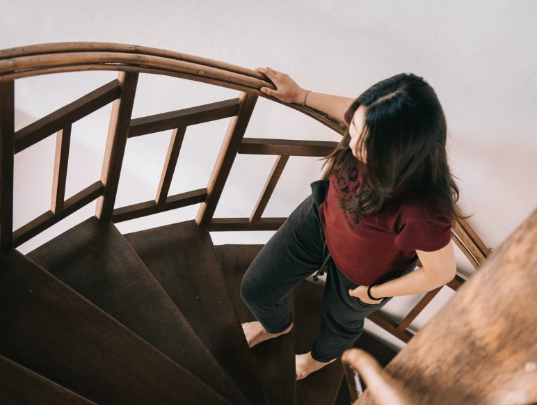 going-for-no-via_Photo_by_Agung_Pandit_Wiguna_women_walking_up_stairs