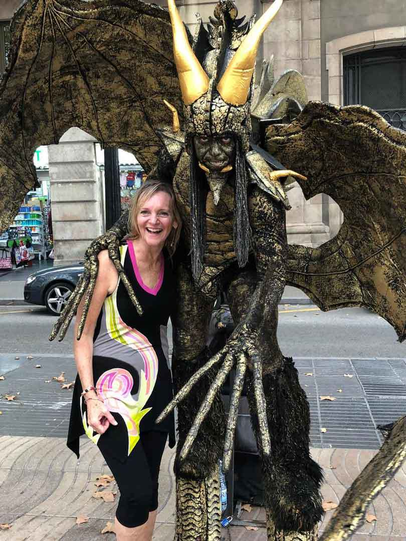 cindy-watson-making-friends-winged-creature