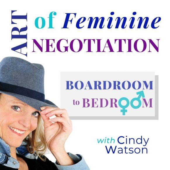 ART of Feminine NEGOTIATION Podcast graphic